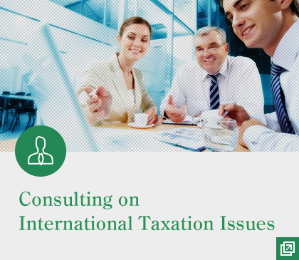 Consulting on International Taxation Issues